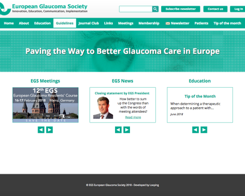 European Glaucoma SocietyNewsletter