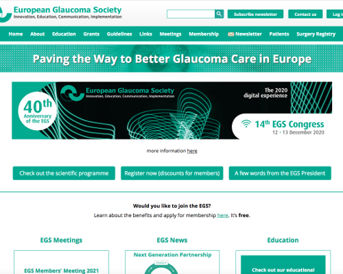 European Glaucoma Society